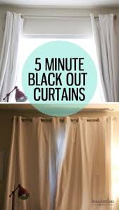 How To Make Room Darkening Curtains How To Make Blackout Curtains Diy Curtains Craft And Crafty
