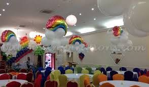 Rainbow Party Decorations Rainbow Party Decorations Archives Ballooninspirations Com