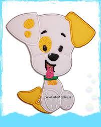 puppy guppy bubble guppies no sew applique patch sew cute