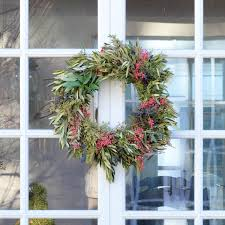 pepperberry wreath olive wreath front door wreaths for christmas