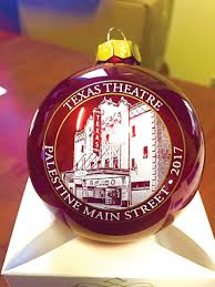 palestine main street unveils 2017 christmas collectible