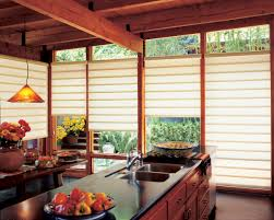 Kitchen Blinds Ideas Kitchen Outstanding Decorating Ideas With Kitchen Roman Shade