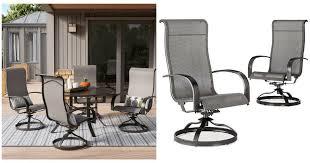 Swivel Rocker Patio Chair Oh My Wow 4 Pc Swivel Rocker Patio Chairs U2014 35 98 Was 400