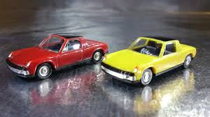 porsche 914 yellow herpa cars magic 451611 vw porsche 914 2 car pack scale red