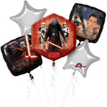wars balloons delivery wars the awakens birthday bouquet of balloons portland