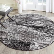black and white round area rug rug designs