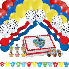 paw patrol party supplies balloons whyrll