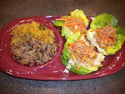 cheesecake factory thanksgiving thai lettuce wraps just like at cheesecake factory except