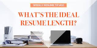 Resume Length Resume Scripter Resume Scripter Blog