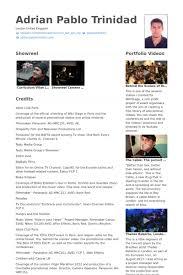 modern resume template free documentary video video producer director resume exle work pinterest