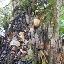jamaican wood sculptures dunn s river falls ocho rios jamaica jamaica wood