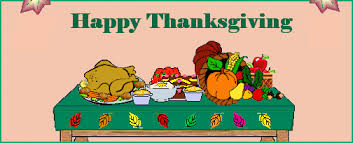 thanksgiving feast food plate clipart clip library