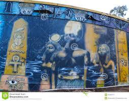 mural art at balboa park in san diego editorial image image mural art at balboa park in san diego