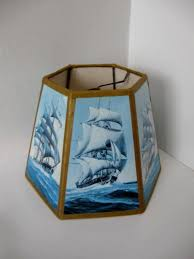 nautical lamp shade vintage better lamps