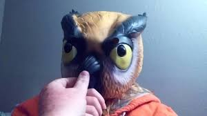 vanossgaming official halloween owl mask by 3dblackdot u0027 u0027 u0027unboxing