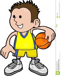 clipart of a basketball player clipartxtras