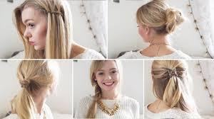 Frisuren Zum Selber Machen D Ne Haar by Einfache Frisuren Lange Haare Selber Machen Top Frisuren 2017