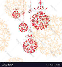 abstract christmas ornament royalty free vector image