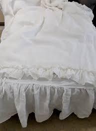 Ruffle Bedding Shabby Chic by White Shabby Chic Bedding Shabby Cottage Chic Duvet Pucker Up