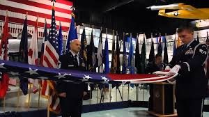 Flag Folding Meaning Usaf Flag Folding Ceremony Youtube