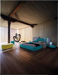 Interesting Interior Design Ideas Rustic Modern Aqua Bedroom Concept By Roche Bobois Decor Advisor