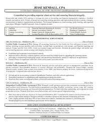 exle of accountant resume cpa resume exle resume