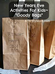 bag new year new years activities for kids goody bags a thrifty