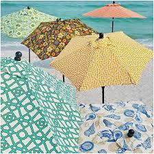 Floral Patio Umbrella Floral Print Patio Umbrellas Unique Outdoor Specialty Printed