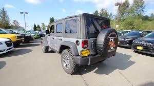 2017 silver jeep rubicon 2017 jeep wrangler unlimited rubicon billet silver metallic