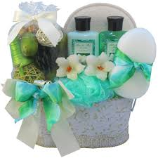relaxation gift basket lavender renewal spa relaxing bath and gift basket set large