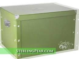 signature ornament storage box by sterling pear