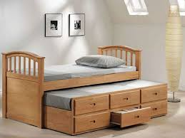 furniture home solid wood bed with drawers twinnew design modern