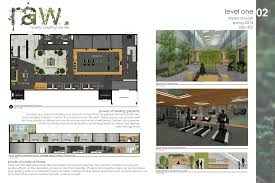 thesis project raw holistic healing center of planning