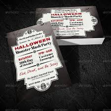 Halloween Monster Mash by Halloween Monster Mash Party Invitation By Viral Legacy Graphicriver