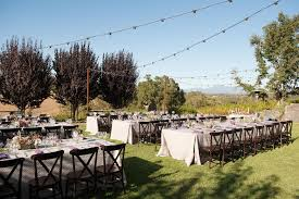 chair and table rentals in sterling va natural outdoor celebration at arista winery linen rentals toms