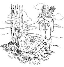 coloring pages robin hood 1 coloring pages robin hood