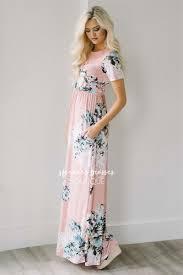 floral maxi dress petal pink floral summer maxi modest dress best and affordable