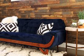 Navy Blue Sofa Set Sofa Navy Velvet Sofa Velvet Tufted Settee Red Velvet Settee