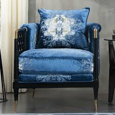 canap tissu design style chinois en bois massif canapé ensemble canapé tissu moderne