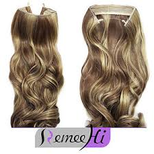 invisible hair secret wire hair extensions invisible wire band remy hair wavy