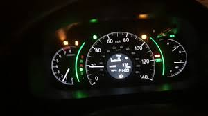 Honda Cr V 2014 Dash Lights Up When Its Cold Youtube