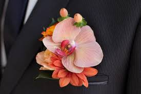 groom s boutonniere groom s boutonniere stock image image of orchid nature 30972827