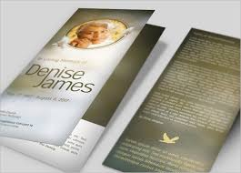 funeral booklet templates 35 funeral program brochure templates free word psd pdf