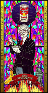 mini stained glass ls stained glass design andy warhol posters by creativefactory