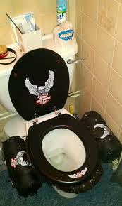 Harley Home Decor by Oh My Word Seriously And Why Didn U0027t They Clean The Toilet