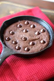 Skillet Kitchen Fudgy Paleo Skillet Chocolate Cake For Two Smile Sandwich
