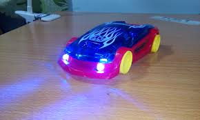 light up remote control car diy how to make mini cars up lights led and rc youtube