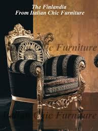 Versace Armchair Finlandia 3 1 1 Set Baroque Versace Style Fabric Sofa Armchair