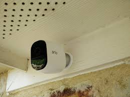 Front Door Camera System by Netgear Arlo Pro Review Front Camera Install 3 We Must Be Geeks