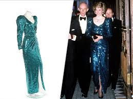 Dianas Princess Diana Dresses On Sale At Auction